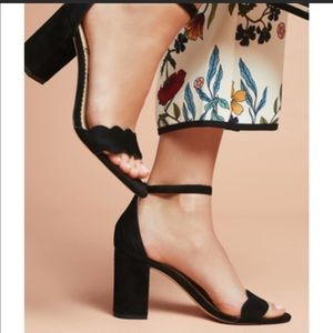 Sam Edelman odila suede block heel sandal